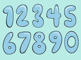 Draw Bubble Numbers Step 5