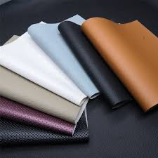 pvc faux leather material
