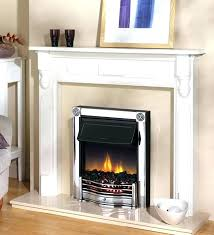 electric fire insert for victorian fireplace style coal chrome inset from looking sui