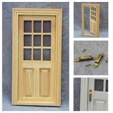Plain Wonderful Cheap Exterior Doors Popular Dollhouse Miniature