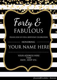 003 80th Birthday Invitations Templates Free Template