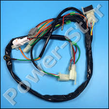 pw50 py50 wire harness wiring assembly for yamaha pw 50 50cc dirt epiphone es 339 pro upgrades at 50 Wiring Harness