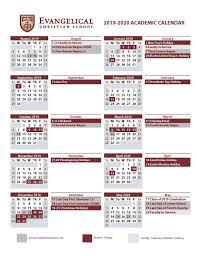 Calendars Evangelical Christian School