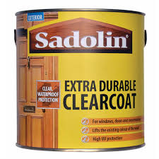 Sadolin Extra Durable Clearcoat Sadolin Exterior Clear Coat Over Acrylic Paint