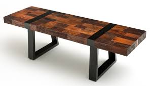 rustic modern furniture. modern rustic bench reclaimed wood furniture