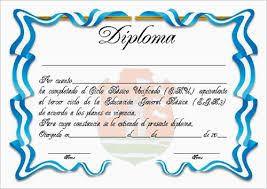 Resultado De Imagen Para Descargar Formatos Diplomas Gratis Doc