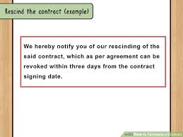 Dating Agreement Contract Fresh How To Terminate A Contract With ...