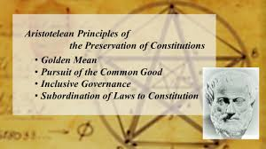 Aristotle Government Chart Aristotelean Preservation Of Constitution Reversal Point