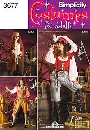 Pirate Costume Pattern