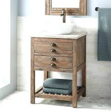 rustic pine bathroom vanities. Vanity With Vessel Sink Vibrant Rustic Bathroom Vanities For Pine