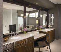 2 Sink Bathroom And Mirrors Are Perfect Spacious Bathroom