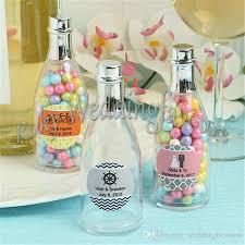 plastic champagne bottle favors holder bridal shower birthday