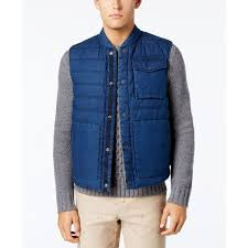 Tommy Hilfiger Men's Reversible Nelson Vest ($65) ❤ liked on ... & Tommy Hilfiger Men's Reversible Nelson Vest ($65) ❤ liked on Polyvore  featuring men's fashion Adamdwight.com