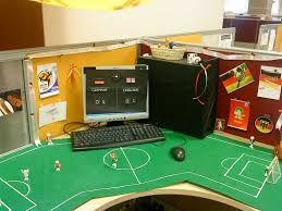decorated office. fifa germany footbal office cubicle decoration decorated a