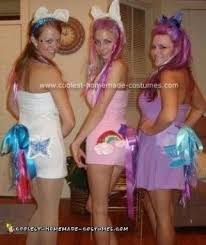 cool homemade my little pony group costume