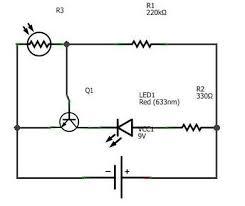 dark sensor light sensor automatic street light 4 steps picture of circuit diagram