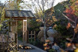 As with most of the constructed elements in the garden, they were created  in Japan, disassembled, shipped here, and permanently reassembled on site  by those ...