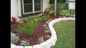 full size of rectangle white fake edging stone decor idea for garden front yard garden outdoor