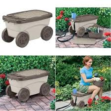 gardening stool with wheels garden cart with seat gardening stool rolling scooter work kneeling on wheels gardening stool with wheels