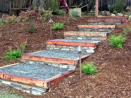 landscape stairs garden steps