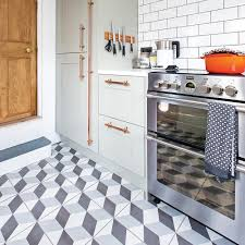 Kitchen tile flooring designs Dutt Stones Geometric Floor Tiles Kitchen Flooring Ideas Jonathan Jones Ideal Home Kitchen Flooring Ideas For Floor Thats Hardwearing Practical