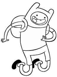 Small Picture Adventure Time Coloring Pages