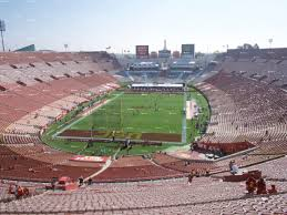 Los Angeles Memorial Sports Arena And Coliseum Seating Chart La Coliseum Usc Football Seating Chart Www