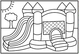 Multi storey house coloring pages. House Coloring Pages For Children Visual Arts Ideas