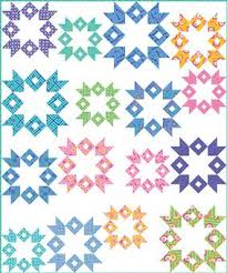 Milky Way Quilt Pattern Download from ConnectingThreads.com ... & Milky Way Quilt Pattern Download Adamdwight.com