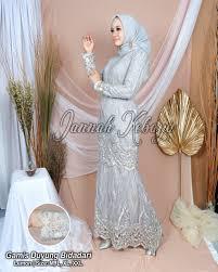 Set kebaya brokat linen kombinasi rok duyung batik modern. New Gamis Duyung Mermeid Terbaru Kebaya Modern Kebaya Wisuda Lazada Indonesia
