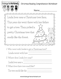 A collection of english esl christmas worksheets for home learning, online practice, distance learning and english classes to teach about. Christmas Reading Worksheet Free Kindergarten Holiday Worksheet For Kids