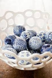 Decorator Balls Decorator Balls Set of 100 Blue White Decorating Pinterest 42