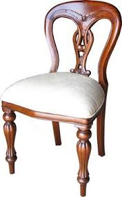 solid gany admiralty side chair finished with a traditional wax polish to enhance the natural traditional dining room
