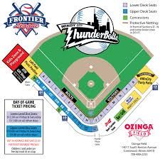 Frontier Park Seating Chart Windy City Thunderbolts Seating Chart