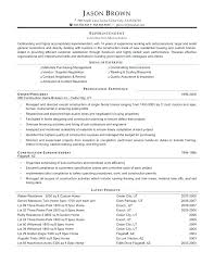 Golf Course Resume Examples Best of Construction Project Manager Sample Resume Resume Examples For