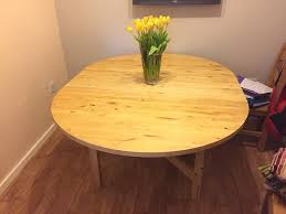 ikea norden round extendable dining table