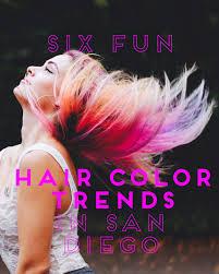 Jewels Hair Design San Diego 6 Fun Hair Color Trends In San Diego Flirt Urban Salon