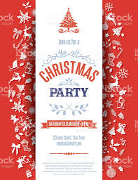 red christmas party invitation template stock vector art  christmas event holiday event reindeer snowflake red christmas party invitation template royalty