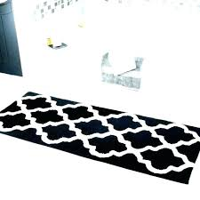 black white striped bath rug and designs gold creative bathro