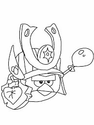 Coloring Pages Angry Birds Epic Kids Bird Coloring Pages Angry