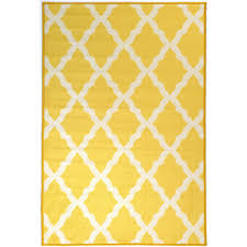 ottomanson pink collection contemporary moroccan trellis design yellow 3 ft x 5 ft area