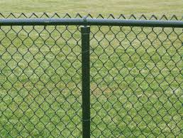 chain link fence is simply a woven steel wire fence coated with zinc to prevent rust commonly referred to as galvanized fence