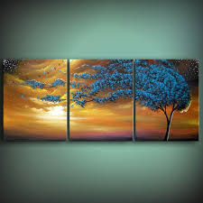 art original painting wind tree painting art abstract art original abstract painting art tree painting