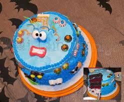 10 Monster Mini Golf Cakes Photo Monster Mini Golf Birthday