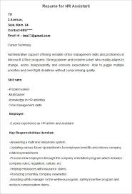 resume for human resources manager 21 hr resume templates doc free premium templates
