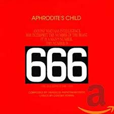 <b>APHRODITE's CHILD</b> - <b>666</b>: The Apocalypse of St John - Amazon ...