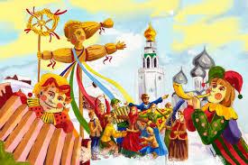 Тема Праздники России russian holidays Английский язык по Скайпу масленица