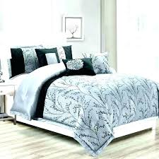 gray ruffle comforter set grey twin and white queen