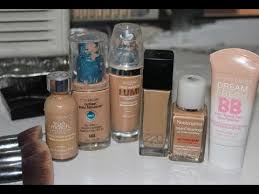 my top foundations for acne oily skin