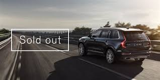 2016 volvo xc90 special edition. allnew 2016 volvo xc90 first edition sells out in 47 hours xc90 special